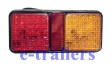WATERPROOF LED 72PCS-REAR TRAILER/TRUCK/LORRY LIGHT CLUSTER -3 IN 1 SUPER BRIGHT